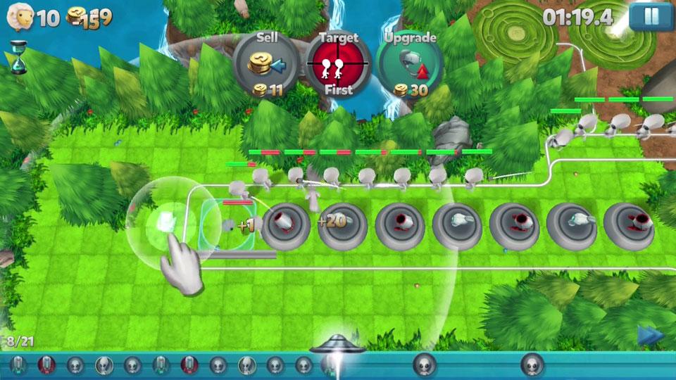 Tower Madness 2: 3D Defense на телефон