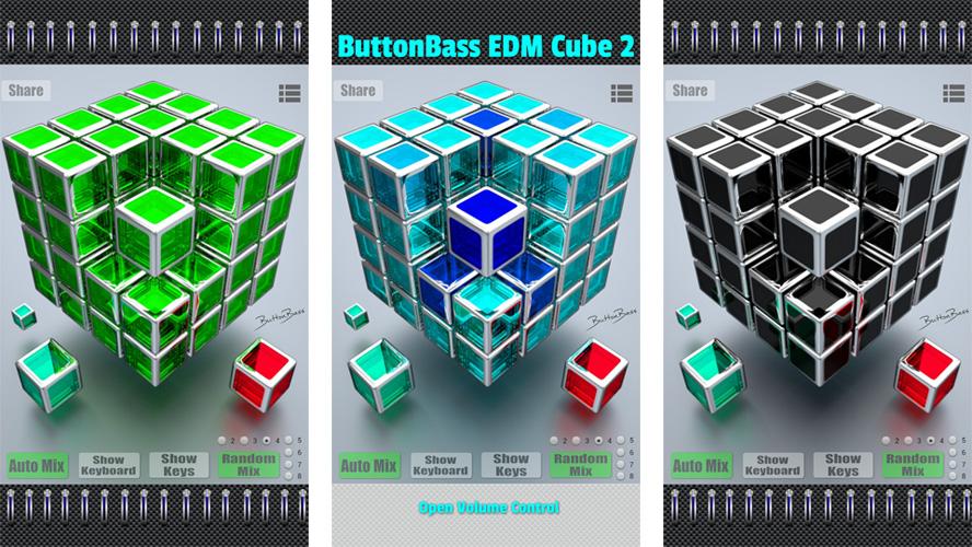 ButtonBass EDM Cube 2 на андроид