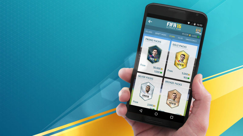 EA Sports FIFA 16 Companion на телефон