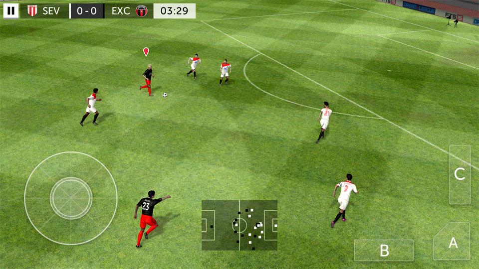 First Touch Soccer 2015 на телефон