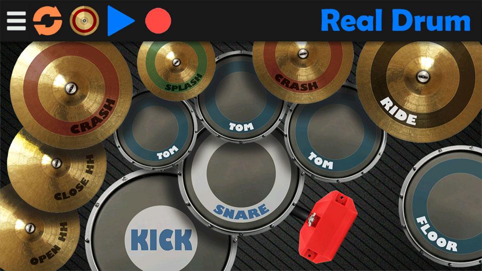Real Drum на андроид