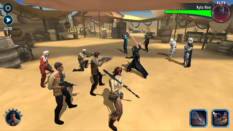 Star Wars: Galaxy of Heroes на телефон