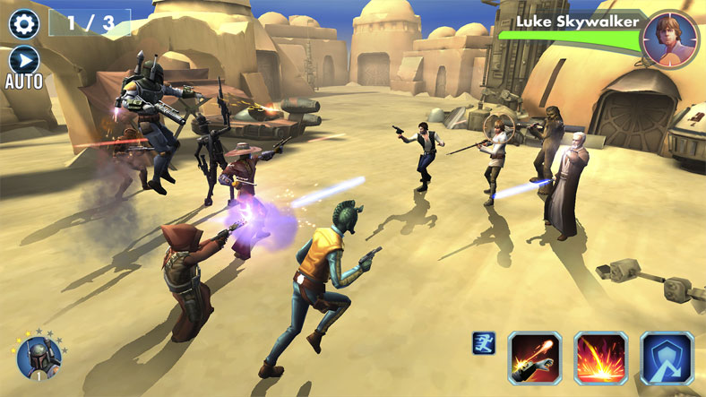 Star Wars: Galaxy of Heroes на андроид