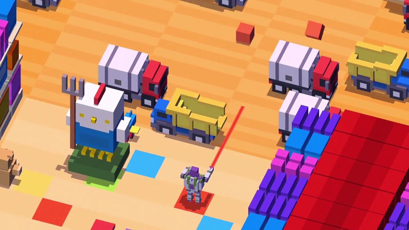 Disney Crossy Road на андроид