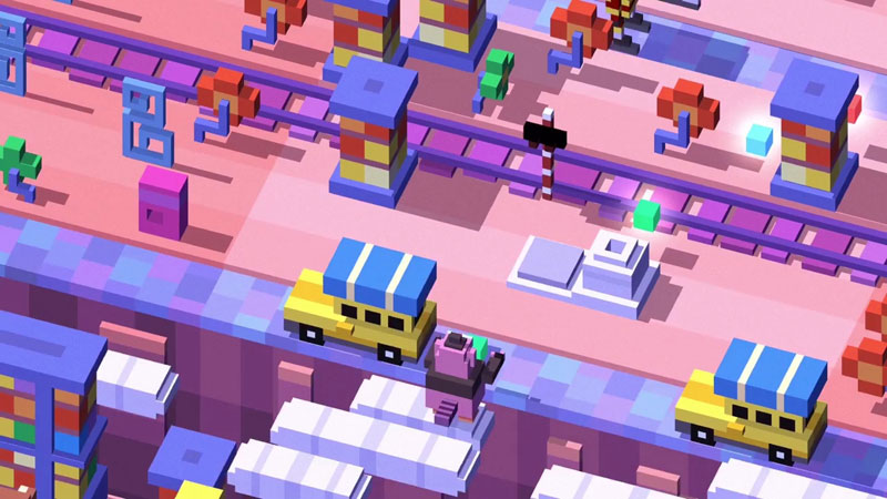 Disney Crossy Road на телефон