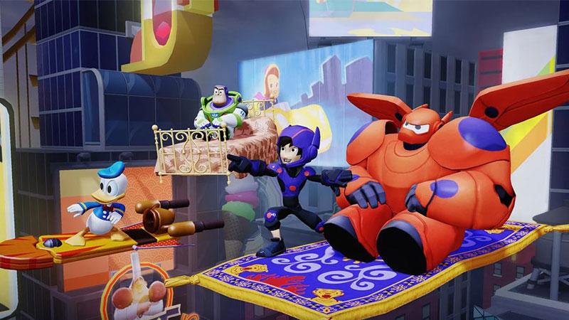 Disney Infinity 2.0: Новые миры на телефон