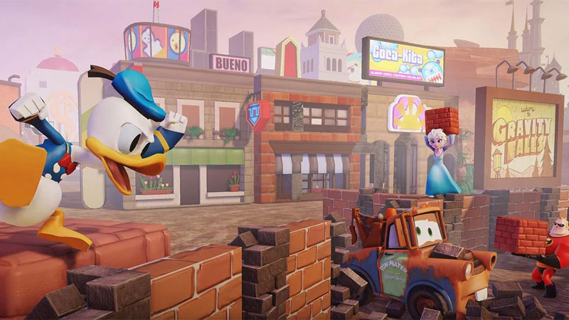 Disney Infinity 2.0: Новые миры скачать