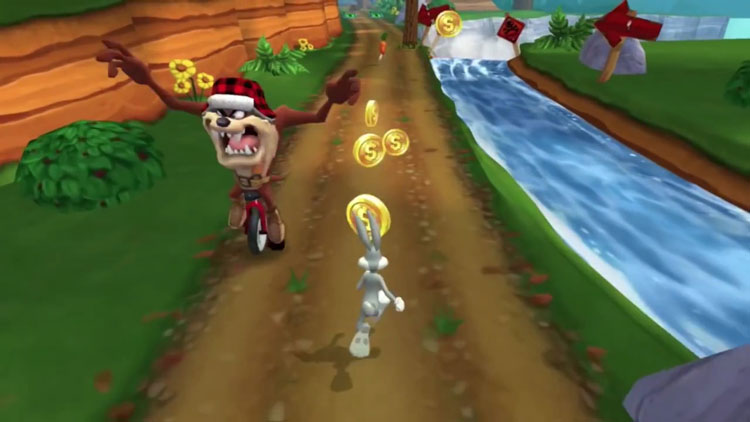 Looney Tunes Dash! на андроид