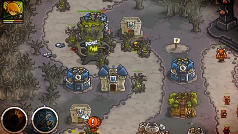 Kingdom Rush на андроид