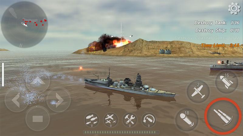 Боевые Корабли на андроид