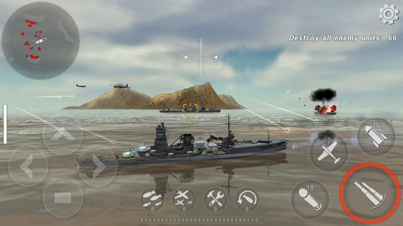Боевые Корабли на телефон