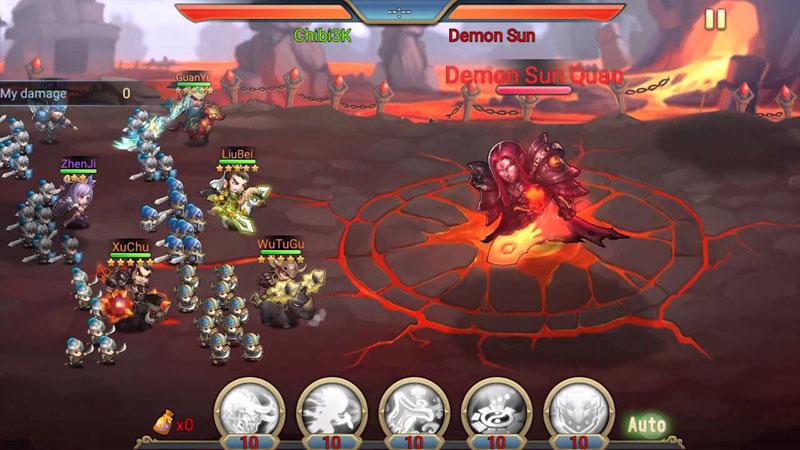Chibi 3 Kingdoms на андроид