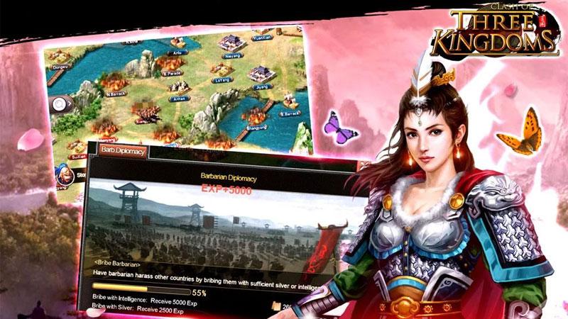 Clash of Three Kingdoms на андроид