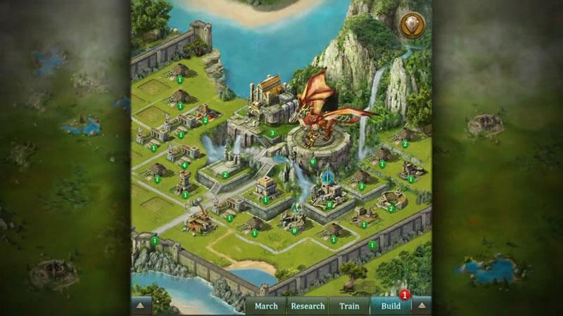 Dragons of Atlantis: Наследники на телефон