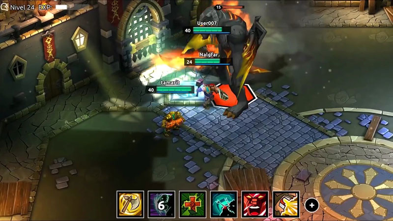 Dungeon Legends на телефон