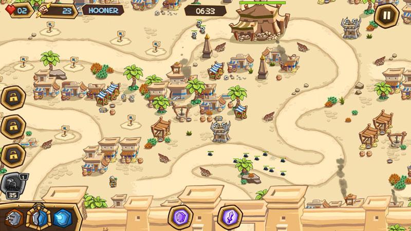 Empires of Sand на телефон
