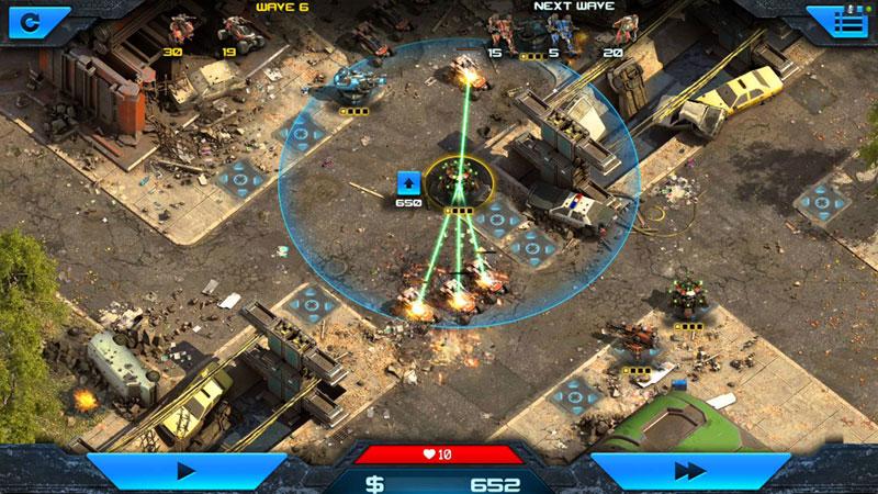 Epic War TD 2 на телефон