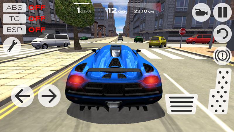 Extreme Car Driving Simulator на андроид
