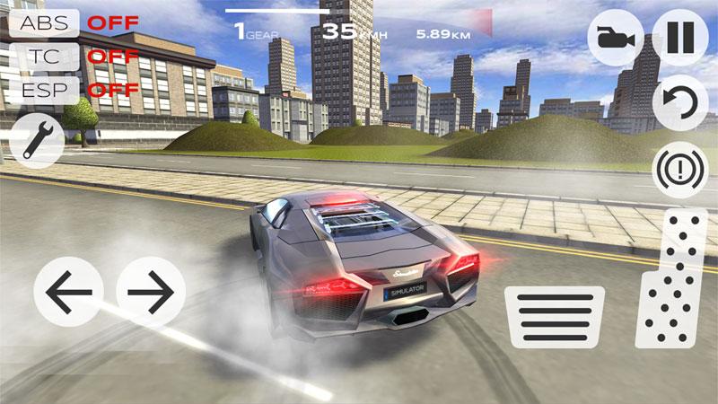Extreme Car Driving Simulator скачать