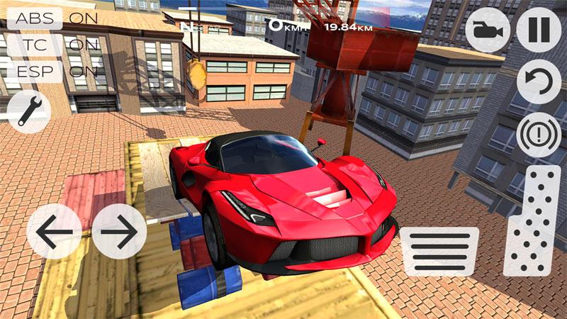 Extreme Car Driving Simulator на телефон