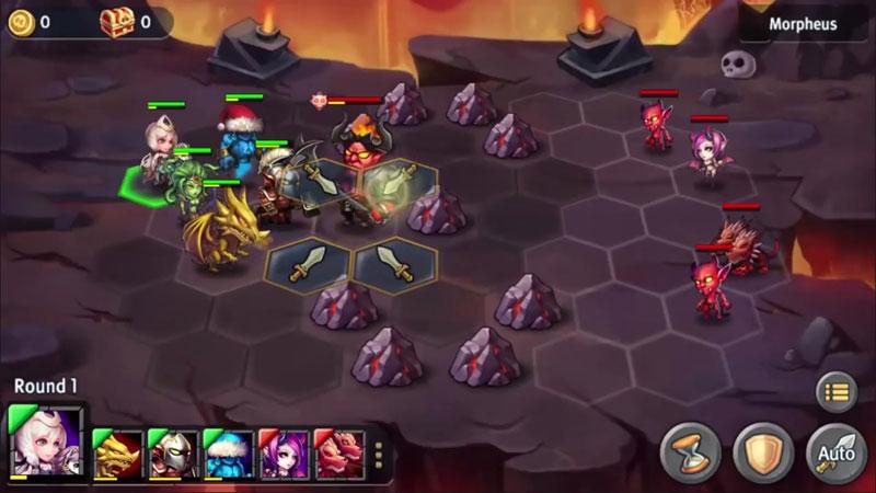 Heroes Tactics на андроид