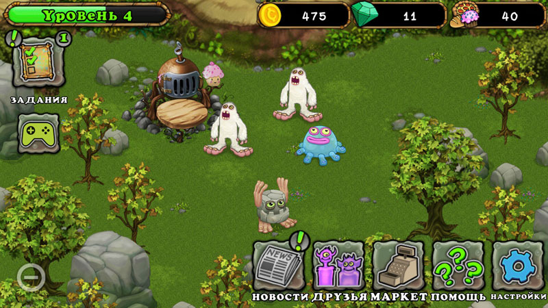 My Singing Monsters на телефон