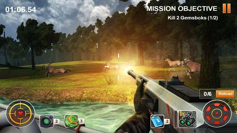 Охотничье сафари 3D на андроид