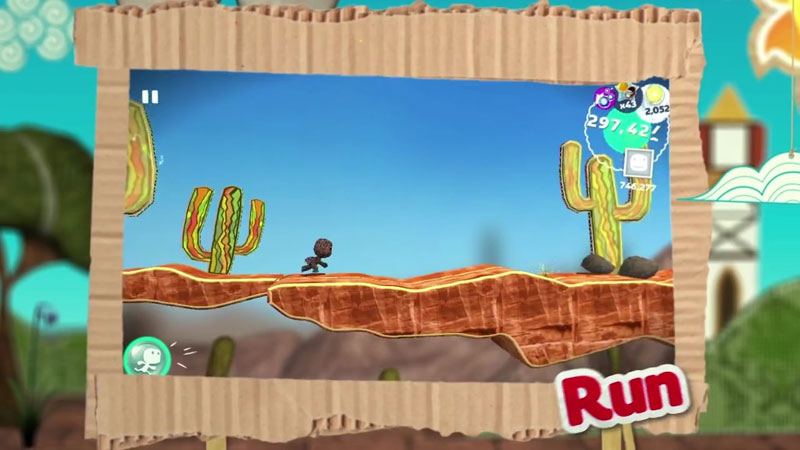 Run Sackboy! Run! на андроид