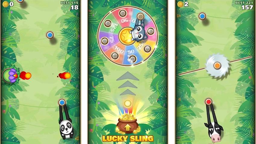 Sling Kong на андроид