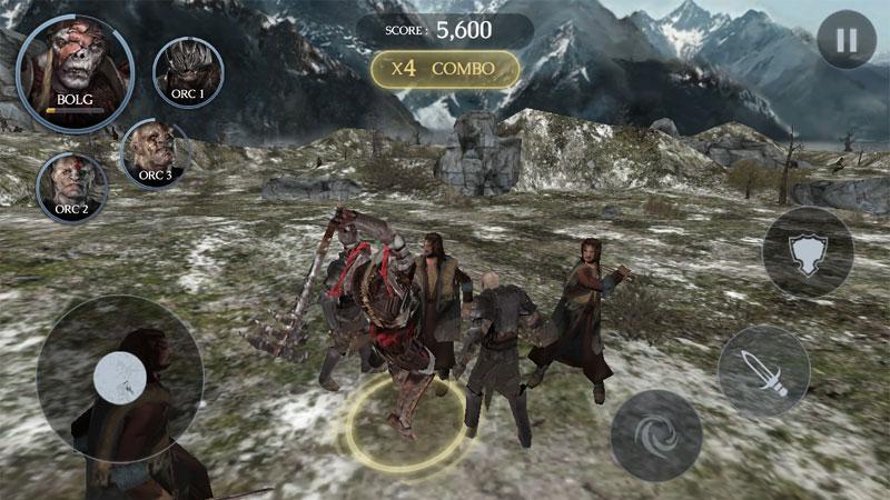 The Hobbit: Kingdoms на андроид