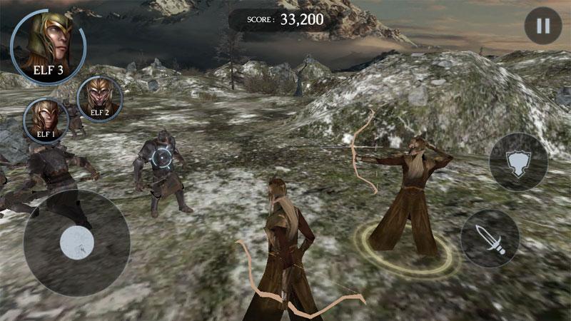The Hobbit: Kingdoms на телефон