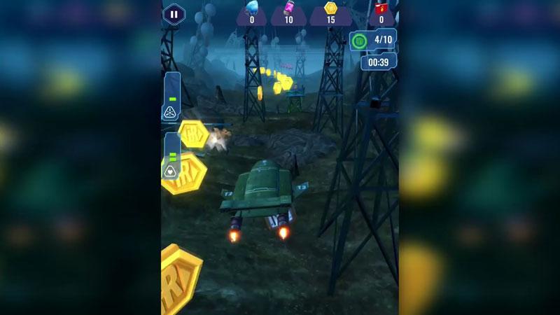 Thunderbirds Are Go: Team Rush на телефон