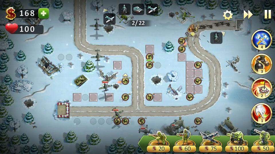 Toy Defense 2 Солдатики на андроид
