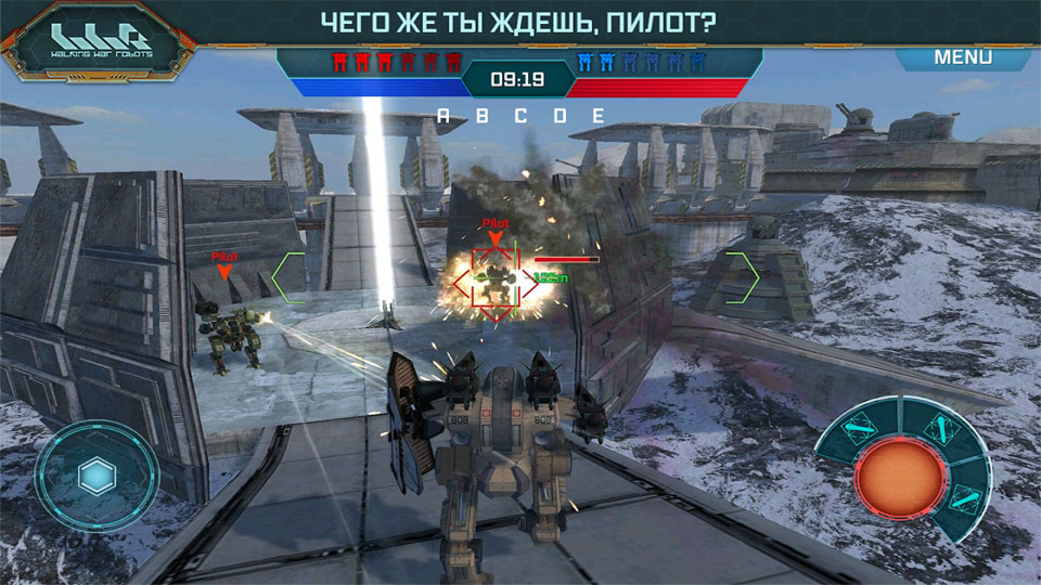 Walking War Robots на андроид