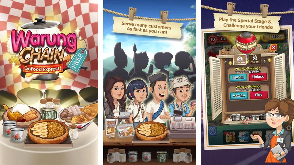 Warung Chain Go Food Express на андроид