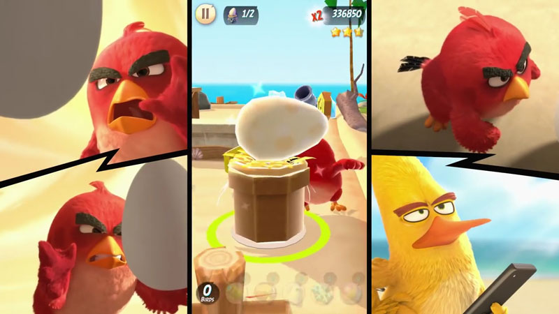 Angry Birds Action! скачать