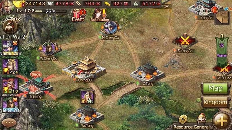Conquest 3 Kingdoms на андроид