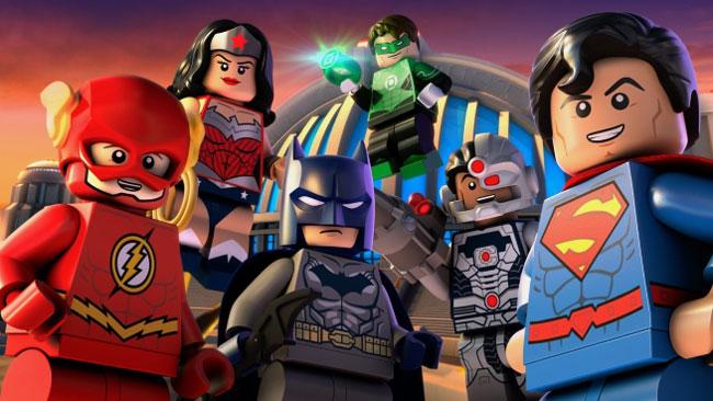 мультик супергерои лего смотреть