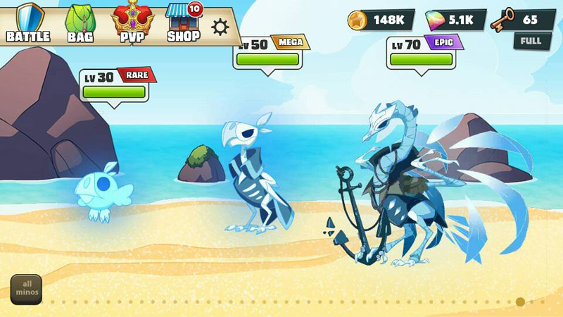 Mino Monsters 2 Evolution скачать