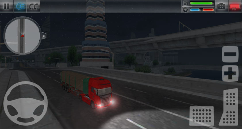 City Truck Simulator на телефон