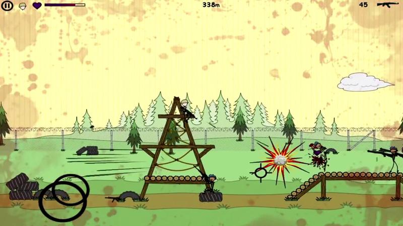 Doodle Army Boot Camp на телефон