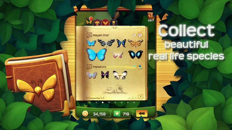 Flutter Butterfly Sanctuary на андроид