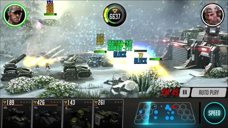 League of War: Mercenaries на андроид