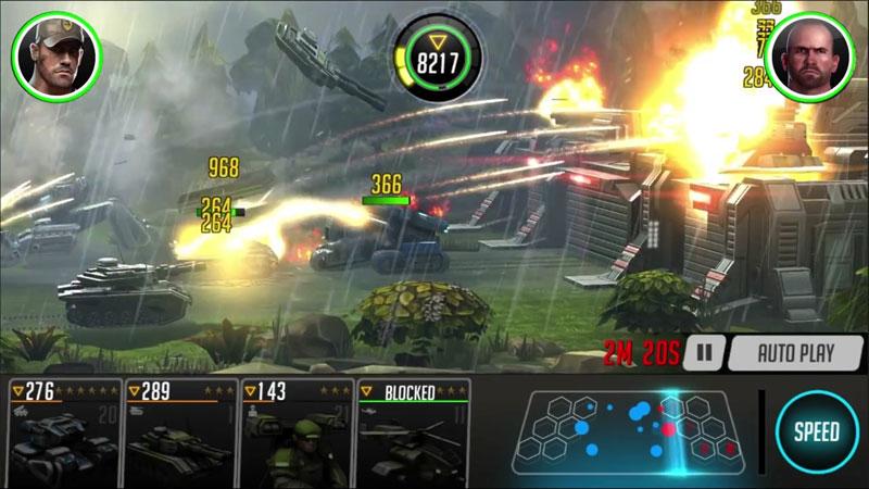 League of War: Mercenaries на телефон