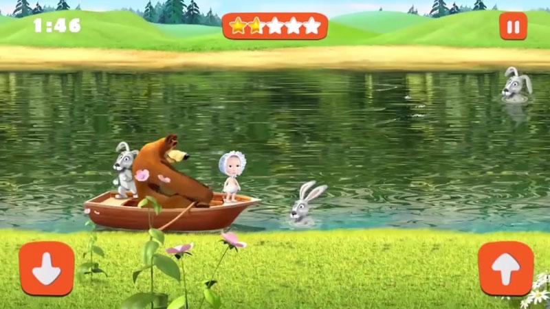 Маша и Медведь: Игры для Детей скачать