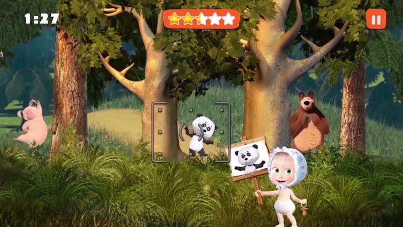 Маша и Медведь: Игры для Детей на телефон