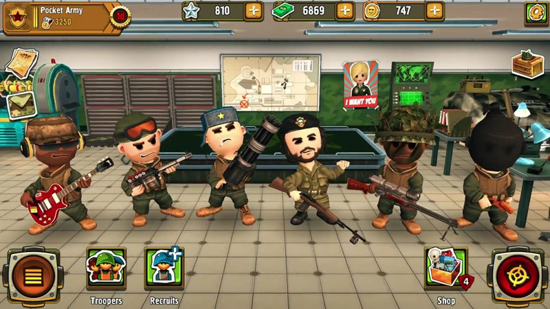 Pocket Troops на андроид