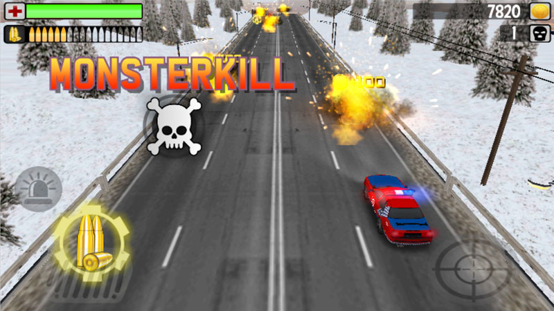 Police Monsterkill 3D на телефон