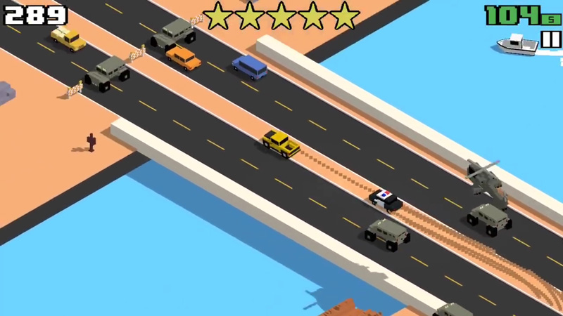 Smashy Road: Wanted на андроид