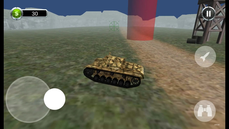 Tank Battle 3D: World War II на телефон